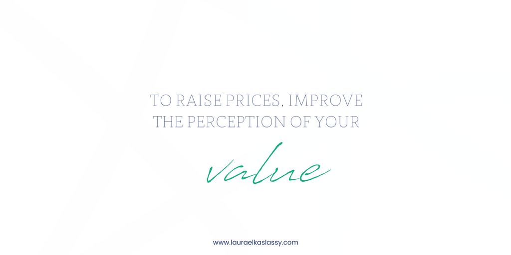 Perception of business service value