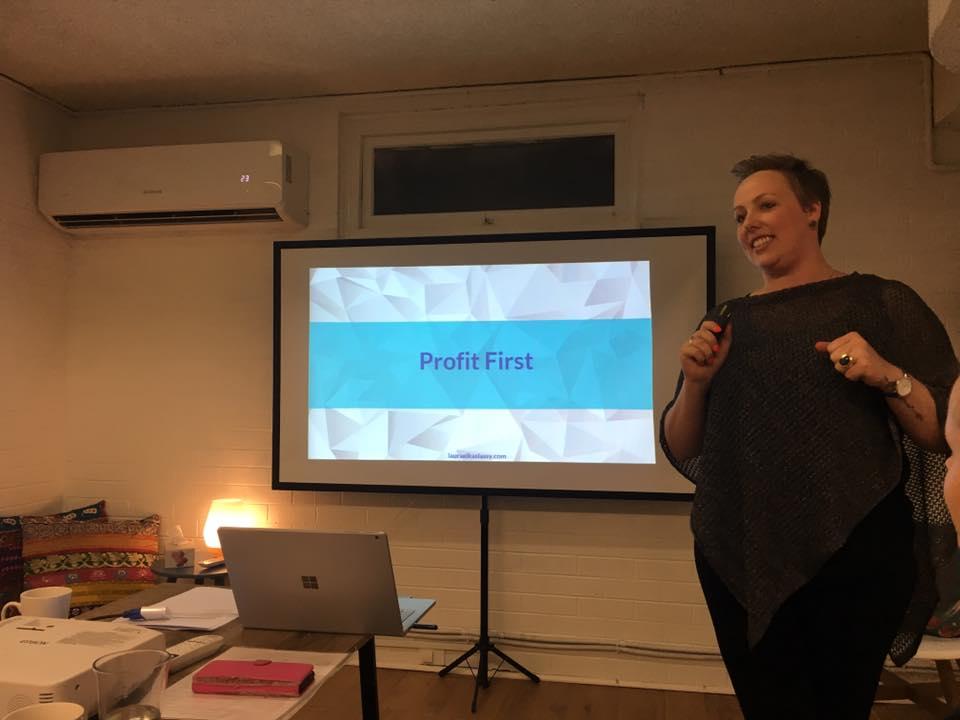 Laura Elkaslassy on Profit First speaker
