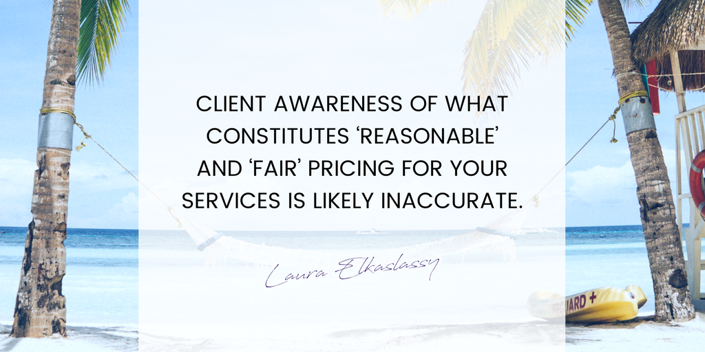 Fair and reasonable pricing for your business