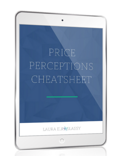 Price Perceptions Cheatsheet Laura Elkaslassy