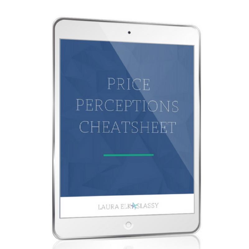 Price Perceptions Cheatsheet